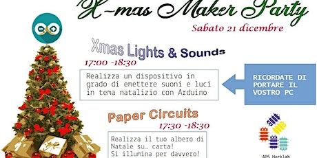 X-mas Maker Party biglietti