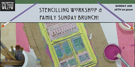 Family art workshop and Sunday Brunch tickets