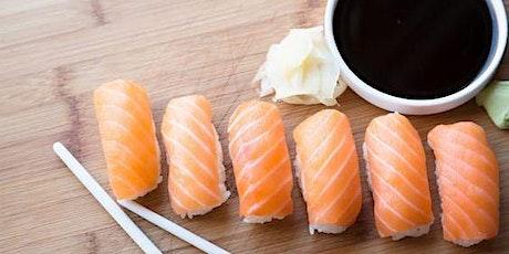 """Atelier """"création de sushis""""  - en collaboration avec Chef Canino billets"""