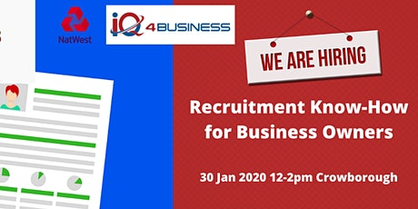 Recruitment Know-How for Business Owners tickets