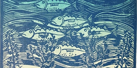 Linocut Workshop for beginners. Design your own plate, print & take home. tickets