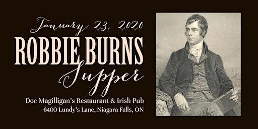 Robbie Burns Supper 2020