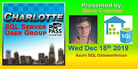 Charlotte SQL Server User Group - Wed December 18th - Meeting Invitation and RSVP tickets