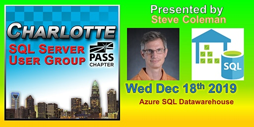Charlotte SQL Server User Group - Wed December 18th - Meeting Invitation and RSVP