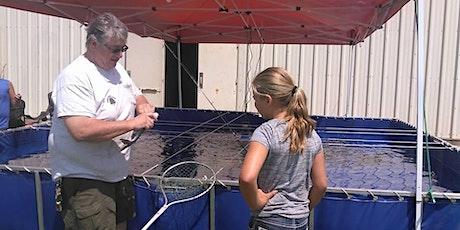 Fishing at the Harvey County Fair,           Newton Kansas tickets