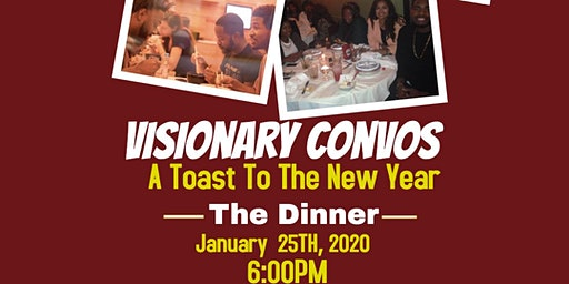Visionary Convos :  A Toast to The New Year