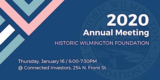 HWF 2020 Annual Meeting