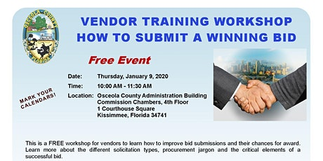 How to Submit a Winning Bid tickets