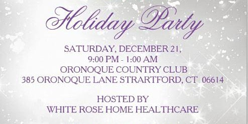 White Rose Holiday Party