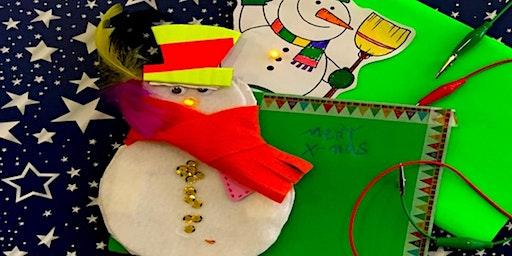 Making: Leuchtende Weihnachtskarten