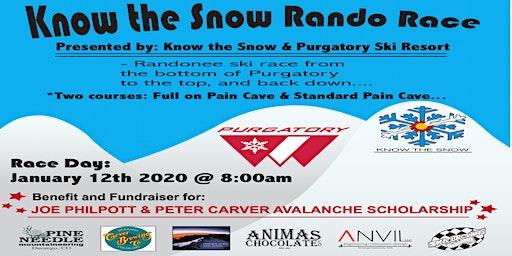 Know the Snow Rando Race