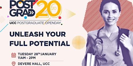 UCC POSTGRADUATE OPEN DAY 2020 tickets