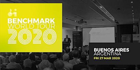 Benchmark World Tour 2020 - Beunos Aires entradas