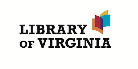 Virginia Genealogy to ca. 1850 tickets