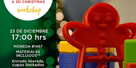 A 3D Christmas Workshop entradas