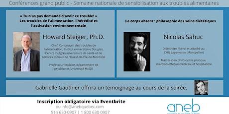 Conférences ANEB x Semaine de sensibilisation aux troubles alimentaires billets