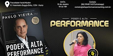 Curso Poder e Alta Performance (com Nívea Rocha) ingressos