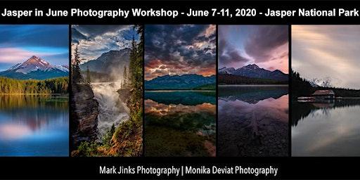 Jasper in June Photography Workshop Retreat 2020