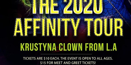 The 2020 Affinity Tour; Phoenix tickets