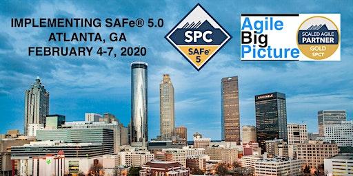 ATLANTA - Implementing SAFe® 5.0 w/SPC Cert *GUARANTEED TO RUN*