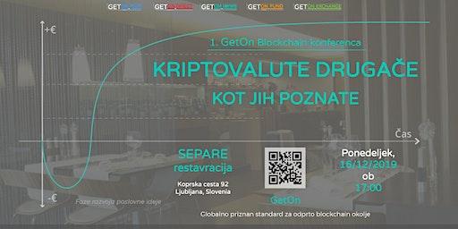 1. GetOn Blockchain Konferenca