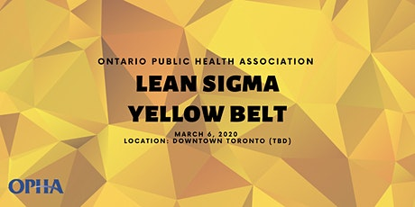 Lean Sigma Yellow Belt Training Workshop 2020 tickets