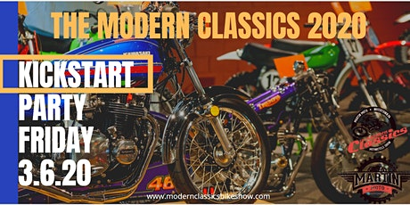 The Modern Classics- Kickstart Party tickets