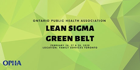 Lean Sigma Green Belt Training Workshop 2020 tickets