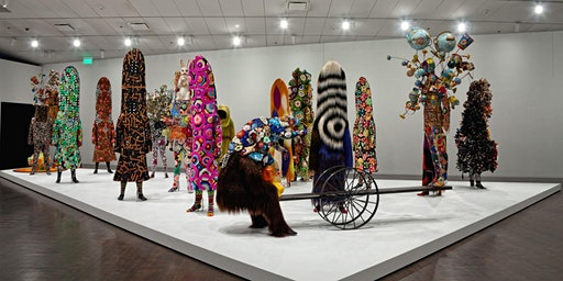 Nick Cave Inspired Found Material Summer Camp
