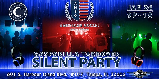 Gasparilla Takeover Silent Party