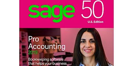 "Sage 50 Training Class – ""Sage 50Cloud Setup""  tickets"