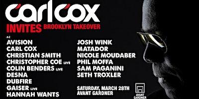 Carl Cox Invites: Brooklyn Takeover