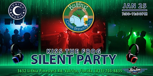 Kiss the Frog Silent Party