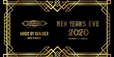 New Year's Eve 2020 at Explorateur tickets