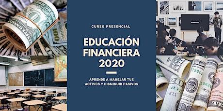 CURSO DE EDUCACIÓN FINANCIERA  entradas