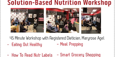 Results Boxing and Fitness Nutrition Seminar, Round 2