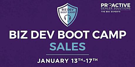 January - Biz Dev Boot Camp Sales tickets