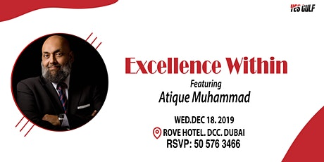 Excellence Within - A motivational talk tickets