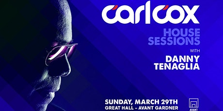 Carl Cox: House Sessions tickets