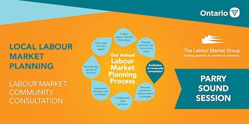 PARRY SOUND - Labour Market Consultations