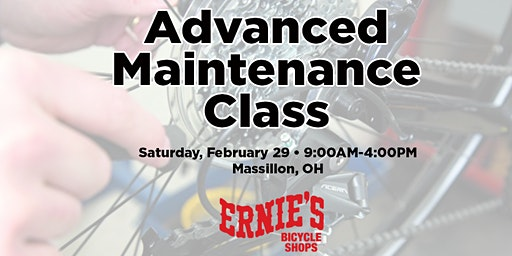 Advanced Maintenance Class - Massillon SOLD OUT