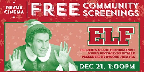 Free Community Screening: ELF (2001) - In support of Parkdale Community Food Bank tickets