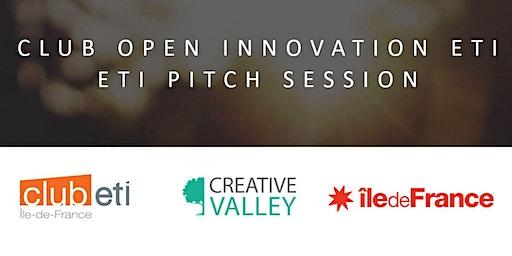 Accélérateur Club  Open Innovation ETI - ETI Pitch Session 17/01/2020