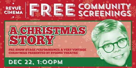 Free Community Screening: A CHRISTMAS STORY (1983) - In Support of Parkdale Community Food Bank tickets