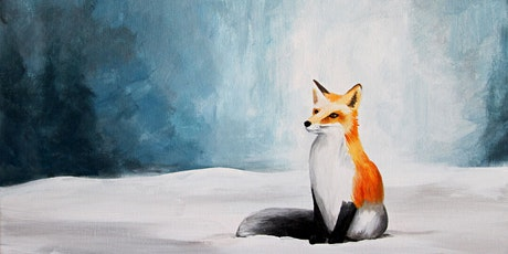 Foxy Red Fox (Adult Version) Paint Party at Brush & Cork tickets