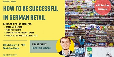 How to be successful in German Retail Tickets