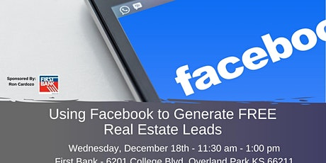 Using Facebook to Generate Free Real Estate Leads ingressos