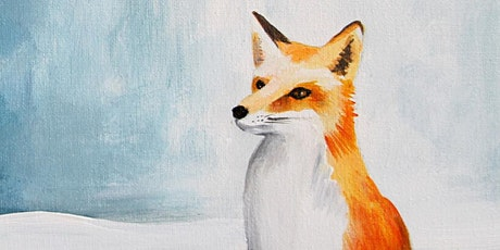 Kids & Grown-Ups Little Red Fox Paint Party at Brush & Cork tickets