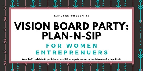 Vision Board: Plan-N-Sip for Women Entrepreneurs tickets