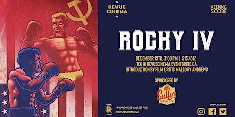 Keeping Score: ROCKY IV (1985) tickets
